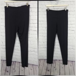Eileen Fisher Black Leggings size 2x